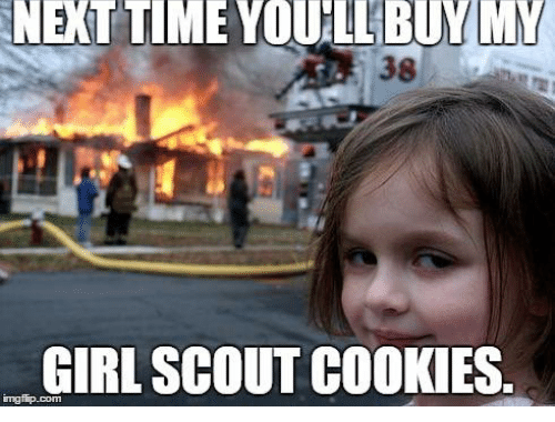 tips for selling girl scout cookies