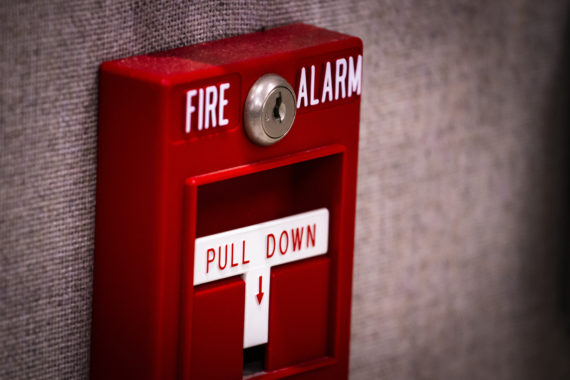 student boys pull fire alarm as a prank with no consequences